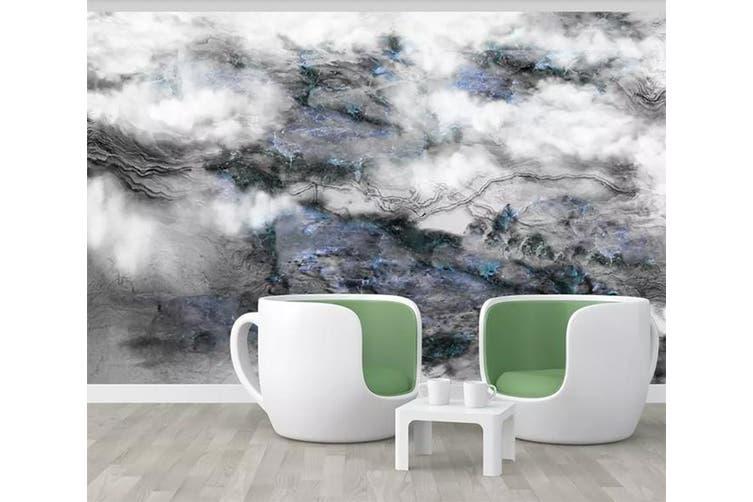 3D Home Wallpaper Foggy Forest 1220 BCHW Wall Murals Self-adhesive Vinyl, XXXXL 520cm x 290cm (WxH)(205''x114'')
