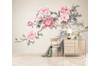 3D Home Wallpaper Pink Flowers 1212 BCHW Wall Murals Self-adhesive Vinyl, XL 208cm x 146cm (WxH)(82''x58'')