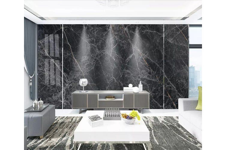 3D Home Wallpaper Black Strips 1211 BCHW Wall Murals Self-adhesive Vinyl, XXL 312cm x 219cm (WxH)(123''x87'')