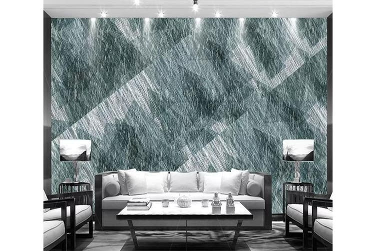 3D Home Wallpaper Black Strips 1208 BCHW Wall Murals Self-adhesive Vinyl, XL 208cm x 146cm (WxH)(82''x58'')