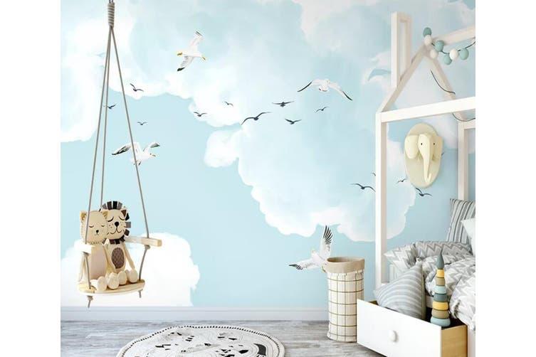 3D Home Wallpaper Flying Bird 1205 BCHW Wall Murals Self-adhesive Vinyl, XL 208cm x 146cm (WxH)(82''x58'')