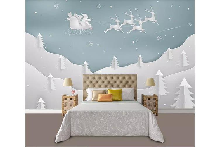 3D Home Wallpaper Forest Fawn 1196 BCHW Wall Murals Woven paper (need glue), XL 208cm x 146cm (WxH)(82''x58'')