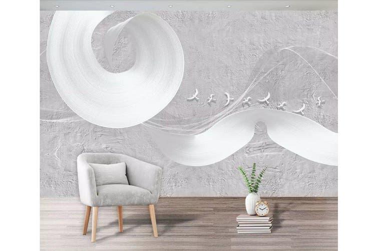 3D Home Wallpaper Flying Bird 1194 BCHW Wall Murals Woven paper (need glue), XL 208cm x 146cm (WxH)(82''x58'')