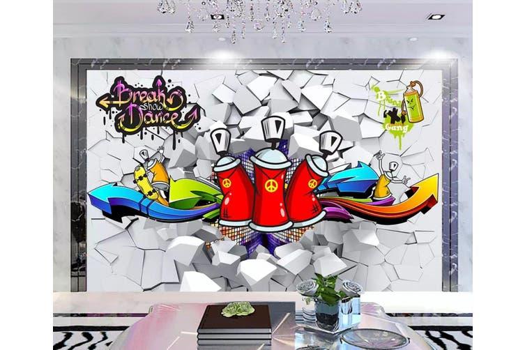 3D Home Wallpaper Cola Bottle 1177 BCHW Wall Murals Woven paper (need glue), XXXL 416cm x 254cm (WxH)(164''x100'')