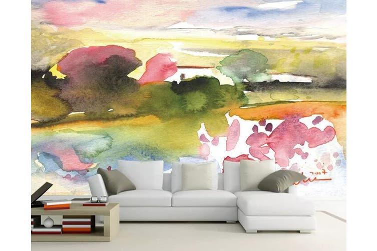 3D Home Wallpaper Forest Sunset 1167 BCHW Wall Murals Woven paper (need glue), XXXL 416cm x 254cm (WxH)(164''x100'')