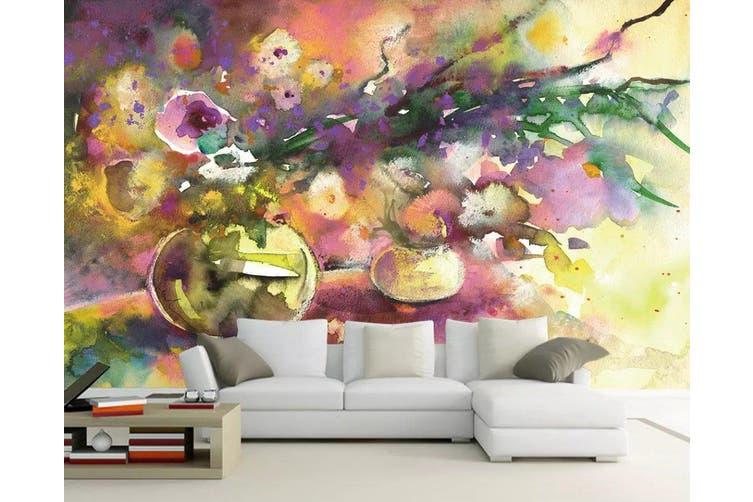3D Home Wallpaper Color Ink 1151 BCHW Wall Murals Woven paper (need glue), XXXXL 520cm x 290cm (WxH)(205''x114'')