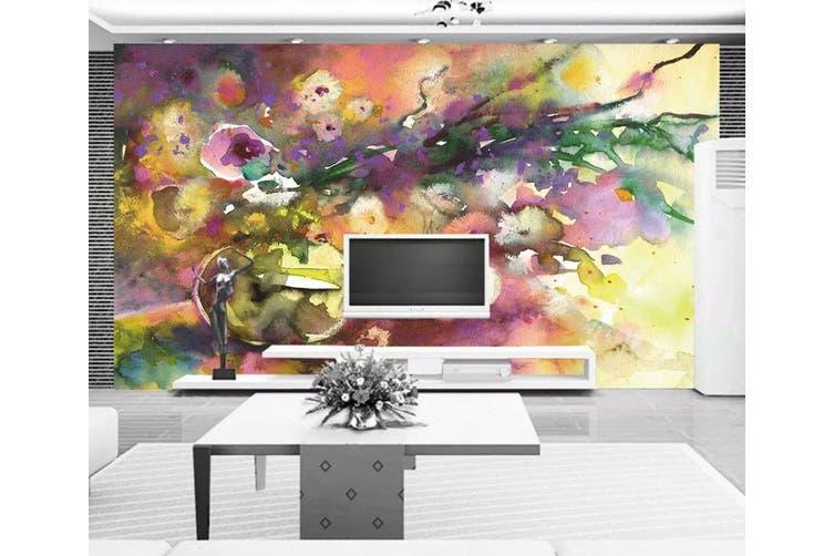 3D Home Wallpaper Color Ink 1151 BCHW Wall Murals Self-adhesive Vinyl, XXL 312cm x 219cm (WxH)(123''x87'')
