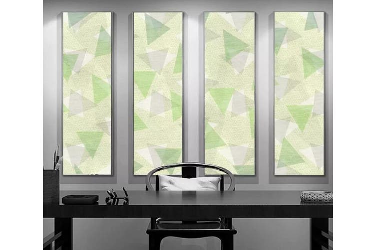 3D Home Wallpaper Color Geometry 1141 BCHW Wall Murals Woven paper (need glue), XXXL 416cm x 254cm (WxH)(164''x100'')