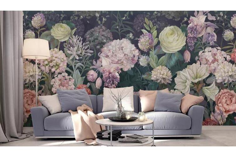 3D Home Wallpaper Flower 1133 BCHW Wall Murals Woven paper (need glue), XXL 312cm x 219cm (WxH)(123''x87'')