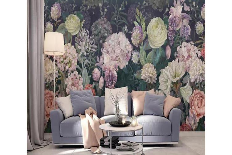 3D Home Wallpaper Flower 1133 BCHW Wall Murals Woven paper (need glue), XXXL 416cm x 254cm (WxH)(164''x100'')