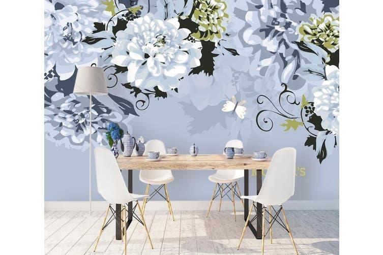 3D Home Wallpaper Flower 1132 BCHW Wall Murals Woven paper (need glue), XXXXL 520cm x 290cm (WxH)(205''x114'')