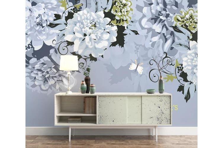 3D Home Wallpaper Flower 1132 BCHW Wall Murals Self-adhesive Vinyl, XXL 312cm x 219cm (WxH)(123''x87'')