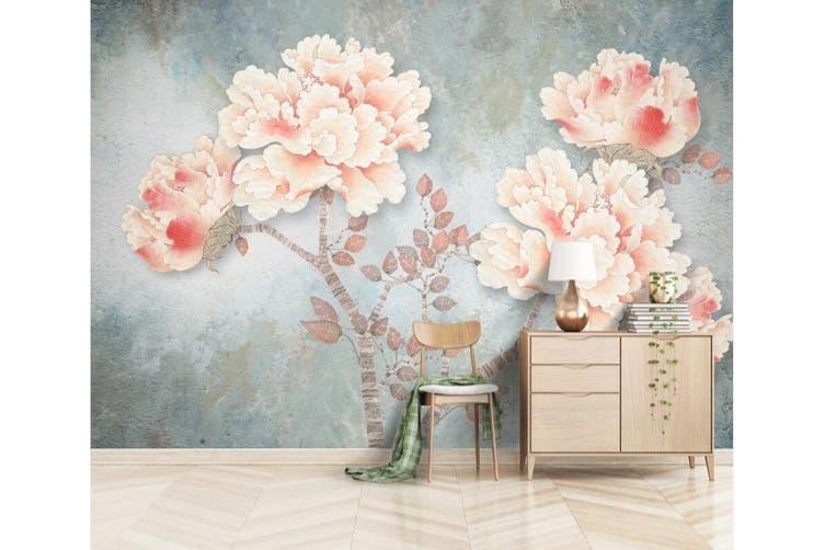 3D Home Wallpaper Cute Flowers 1115 BCHW Wall Murals Self-adhesive Vinyl, XXXXL 520cm x 290cm (WxH)(205''x114'')