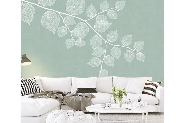 3D Home Wallpaper Leaves 1101 BCHW Wall Murals Self-adhesive Vinyl, XL 208cm x 146cm (WxH)(82''x58'')