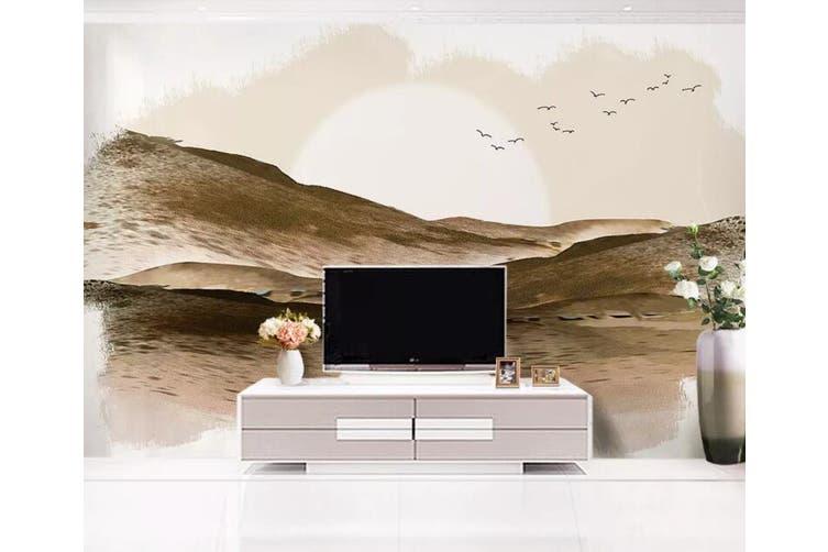 3D Home Wallpaper Desert Bird 1094 BCHW Wall Murals Woven paper (need glue), XL 208cm x 146cm (WxH)(82''x58'')
