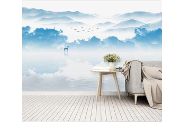 3D Home Wallpaper Blue Sea 1092 BCHW Wall Murals Woven paper (need glue), XXL 312cm x 219cm (WxH)(123''x87'')