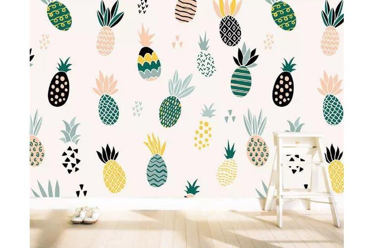 3D Home Wallpaper Cute Fruit 091 ACH Wall Murals Self-adhesive Vinyl, XXXXL 520cm x 290cm (WxH)(205''x114'')