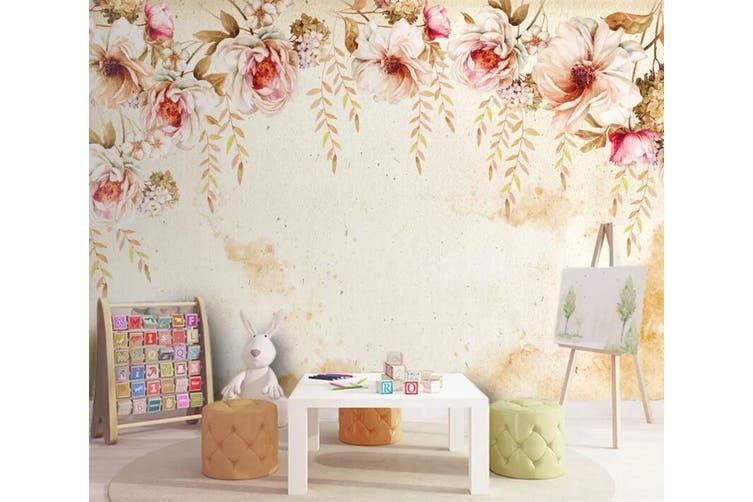 3D Home Wallpaper Colored Flowers 083 ACH Wall Murals Self-adhesive Vinyl, XXXXL 520cm x 290cm (WxH)(205''x114'')