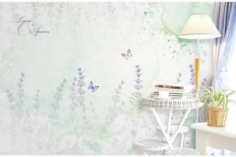3D Home Wallpaper Flower Butterfly 072 ACH Wall Murals Self-adhesive Vinyl, XXL 312cm x 219cm (WxH)(123''x87'')