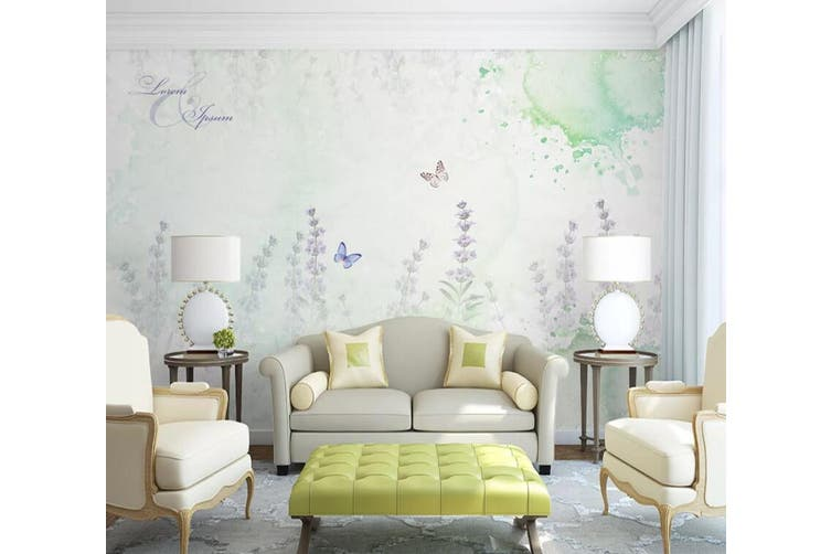 3D Home Wallpaper Flower Butterfly 072 ACH Wall Murals Self-adhesive Vinyl, XXXXL 520cm x 290cm (WxH)(205''x114'')