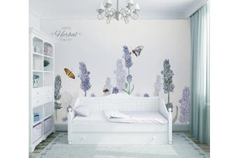 3D Home Wallpaper Flower Butterfly 066 ACH Wall Murals Self-adhesive Vinyl, XXXXL 520cm x 290cm (WxH)(205''x114'')