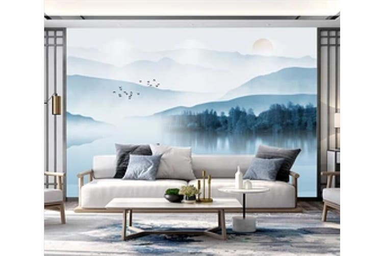 3D Home Wallpaper River Boat 051 ACH Wall Murals Woven paper (need glue), XL 208cm x 146cm (WxH)(82''x58'')