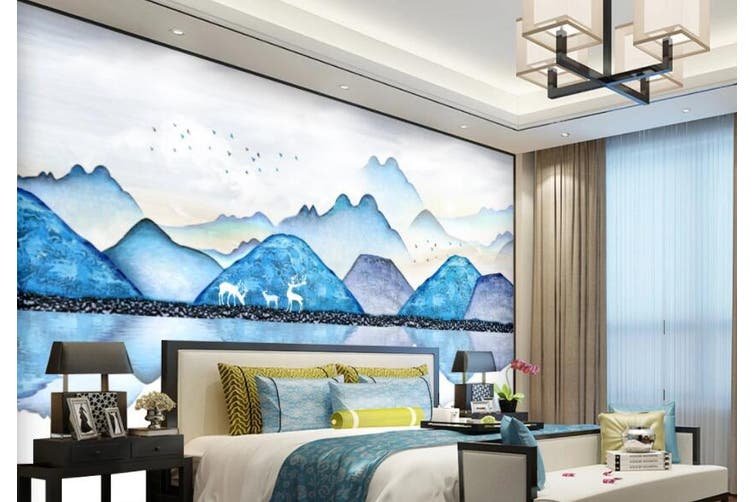 3D Home Wallpaper River Boat Y9 ACH Wall Murals Woven paper (need glue), XXL 312cm x 219cm (WxH)(123''x87'')