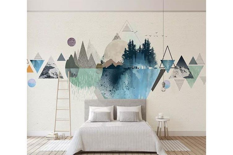 3D Home Wallpaper Color Inkjet Y2 ACH Wall Murals Self-adhesive Vinyl, XXXXL 520cm x 290cm (WxH)(205''x114'')