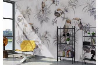 3D Home Wallpaper Toucan Y0 ACH Wall Murals Self-adhesive Vinyl, XL 208cm x 146cm (WxH)(82''x58'')