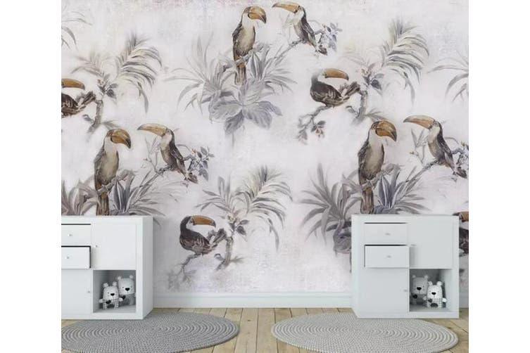 3D Home Wallpaper Toucan Y0 ACH Wall Murals Self-adhesive Vinyl, XXXXL 520cm x 290cm (WxH)(205''x114'')