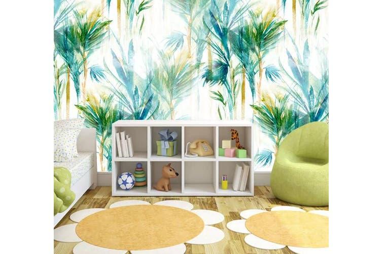 3D Home Wallpaper Green Plant W2 ACH Wall Murals Self-adhesive Vinyl, XXL 312cm x 219cm (WxH)(123''x87'')