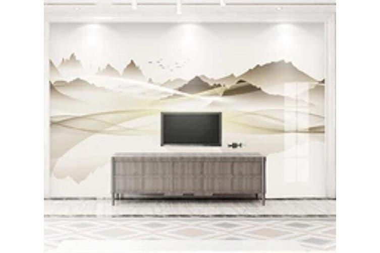 3D Home Wallpaper Mountain River 028 ACH Wall Murals Woven paper (need glue), XXL 312cm x 219cm (WxH)(123''x87'')
