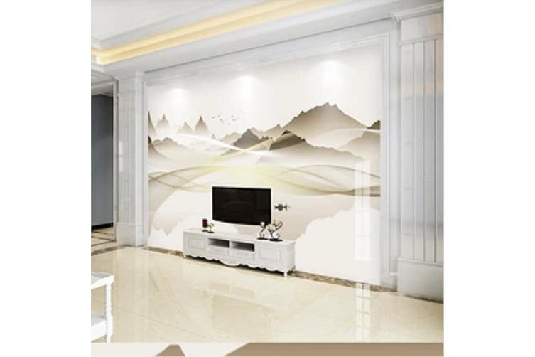 3D Home Wallpaper Mountain River 028 ACH Wall Murals Woven paper (need glue), XXXL 416cm x 254cm (WxH)(164''x100'')