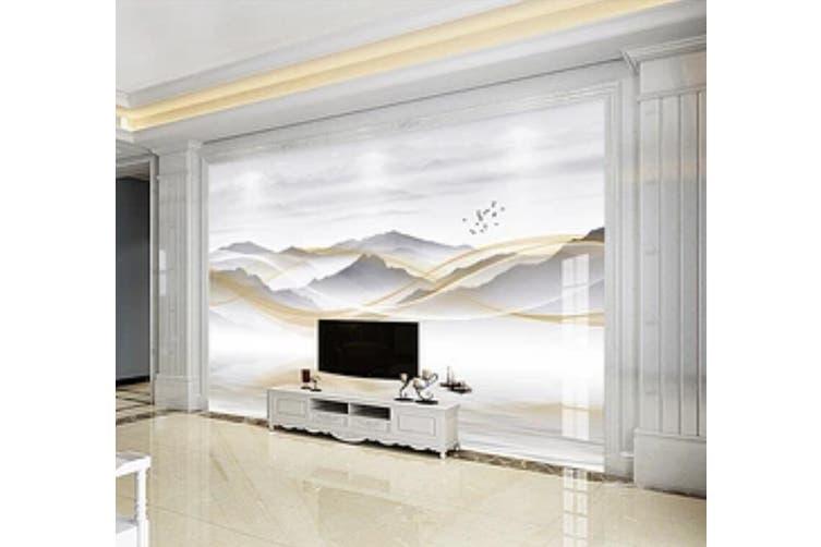 3D Home Wallpaper Mountain River 026 ACH Wall Murals Self-adhesive Vinyl, XL 208cm x 146cm (WxH)(82''x58'')