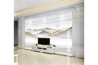 3D Home Wallpaper Mountain River 026 ACH Wall Murals Self-adhesive Vinyl, XXL 312cm x 219cm (WxH)(123''x87'')