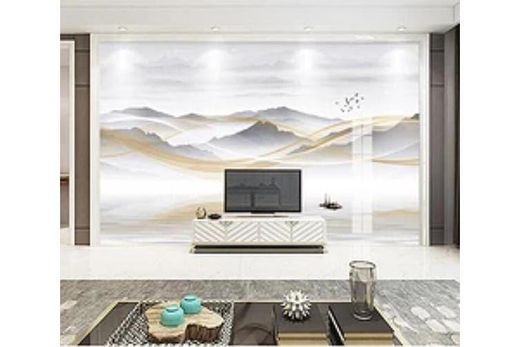 3D Home Wallpaper Mountain River 026 ACH Wall Murals Self-adhesive Vinyl, XXXL 416cm x 254cm (WxH)(164''x100'')