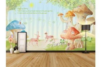 3D Home Wallpaper Dream House 0P ACH Wall Murals Self-adhesive Vinyl, XXL 312cm x 219cm (WxH)(123''x87'')