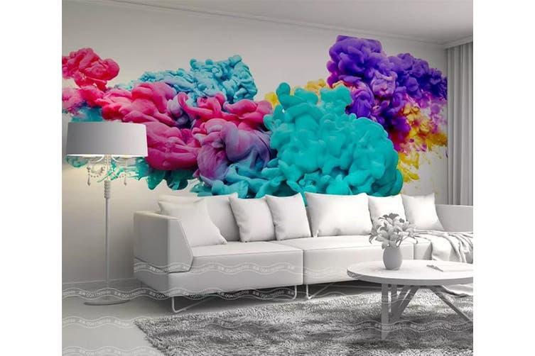 3D Home Wallpaper Color Ink 011 ACH Wall Murals Self-adhesive Vinyl, XXXL 416cm x 254cm (WxH)(164''x100'')