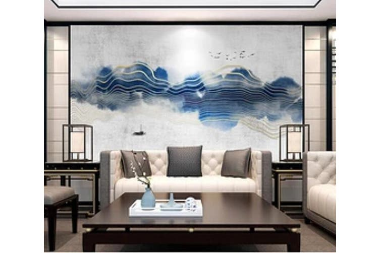 3D Home Wallpaper Landscape Painting 001 ACH Wall Murals Self-adhesive Vinyl, XL 208cm x 146cm (WxH)(82''x58'')