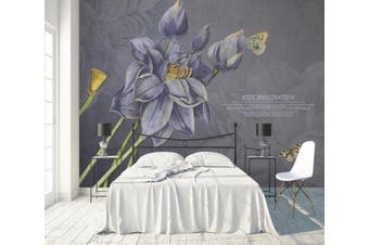 3D Home Wallpaper Flower 1480 ACH Wall Murals Self-adhesive Vinyl, XXL 312cm x 219cm (WxH)(123''x87'')