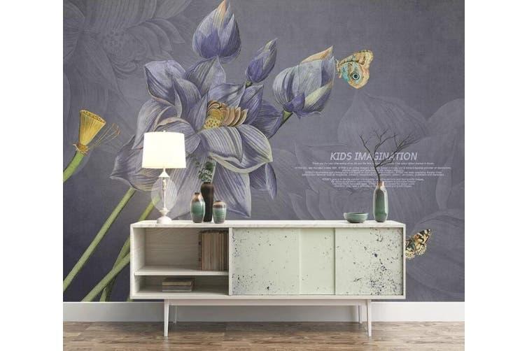3D Home Wallpaper Flower 1480 ACH Wall Murals Self-adhesive Vinyl, XXXL 416cm x 254cm (WxH)(164''x100'')