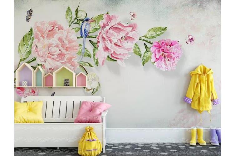 3D Home Wallpaper Flower 1475 ACH Wall Murals Woven paper (need glue), XXXL 416cm x 254cm (WxH)(164''x100'')