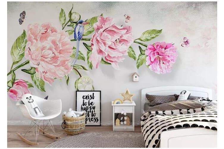 3D Home Wallpaper Flower 1475 ACH Wall Murals Self-adhesive Vinyl, XL 208cm x 146cm (WxH)(82''x58'')
