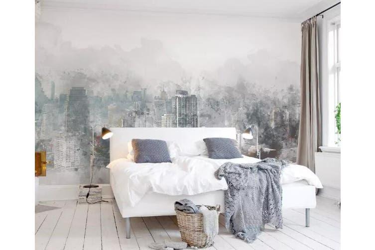 3D Home Wallpaper Misty Valley 1458 ACH Wall Murals Self-adhesive Vinyl, XXXL 416cm x 254cm (WxH)(164''x100'')