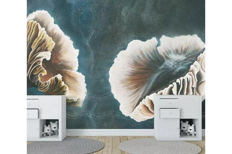 3D Home Wallpaper Leaves 1459 ACH Wall Murals Woven paper (need glue), XL 208cm x 146cm (WxH)(82''x58'')