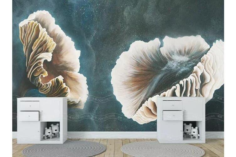 3D Home Wallpaper Leaves 1459 ACH Wall Murals Woven paper (need glue), XXXL 416cm x 254cm (WxH)(164''x100'')