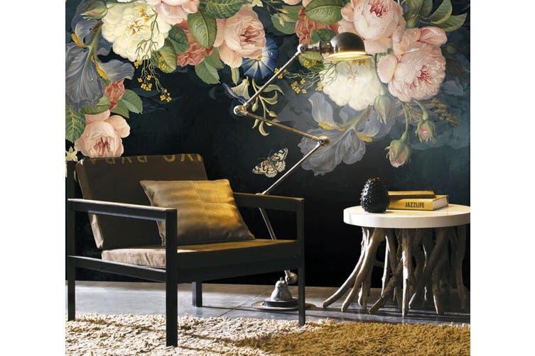 3D Home Wallpaper Flower 1448 ACH Wall Murals Woven paper (need glue), XXXXL 520cm x 290cm (WxH)(205''x114'')