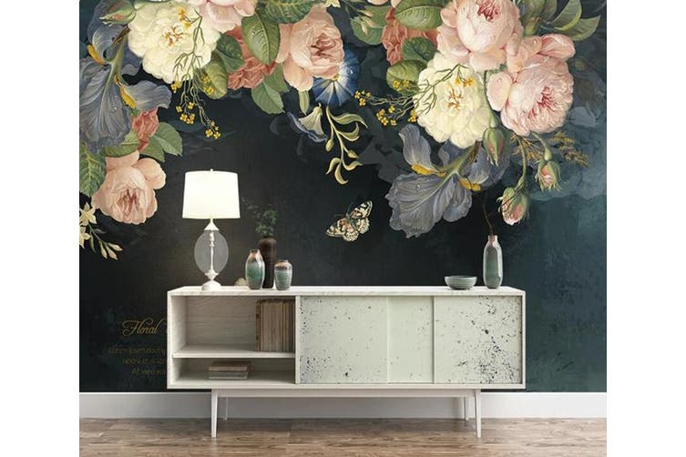3D Home Wallpaper Flower 1448 ACH Wall Murals Self-adhesive Vinyl, XXL 312cm x 219cm (WxH)(123''x87'')