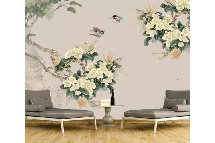 3D Home Wallpaper Flower 1450 ACH Wall Murals Self-adhesive Vinyl, XXXL 416cm x 254cm (WxH)(164''x100'')