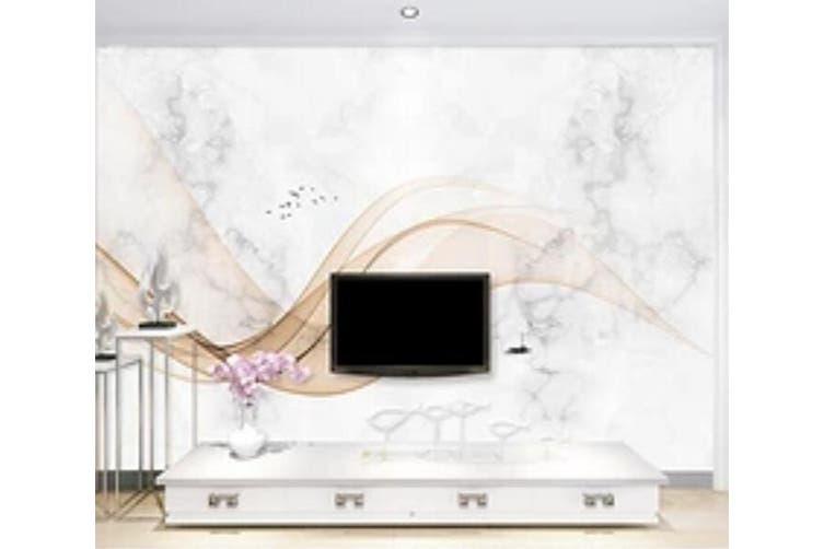 3D Home Wallpaper Wavy Stripes 1446 ACH Wall Murals Woven paper (need glue), XXL 312cm x 219cm (WxH)(123''x87'')